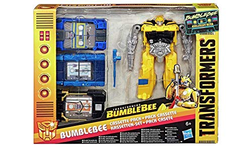 Transformers Bumblebee - Los Mejores éxitos Bumblebee Cassette Pack