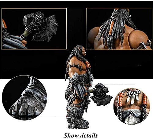 XXSDDM-WJ Regalo World of Warcraft Series: Frostwolf Chieftain Durotan Figura de acción PVC Modelo Regalo - 4 3 Pulgadas ERJ483