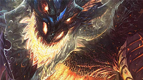 XYDH Puzzle De Madera De 500 Piezas para Adultos,Cataclismo De World of Warcraft Juegos Familiares,Rompecabezas De Madera para Aliviar EstréS Juego Intelectual/52 * 38CM