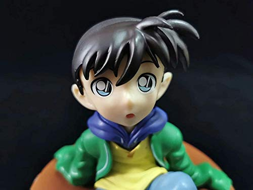 ZPTECH Figuras de acción exquisitas Nueva figura de detective Conan Kudo Shinichi estrecha figura de anime Chibi Figura de acción Feng (color: por defecto)