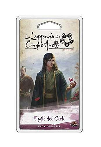 Asmodee Italia - La leyenda de los cinco anillos LCG expansión Figli dei Cieli Edición íntegramente en Italia, color, 9126 , color/modelo surtido