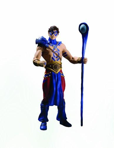 DC Direct Blackest Night: Serie 8: Indigo Tribe The Atom Figura de acción