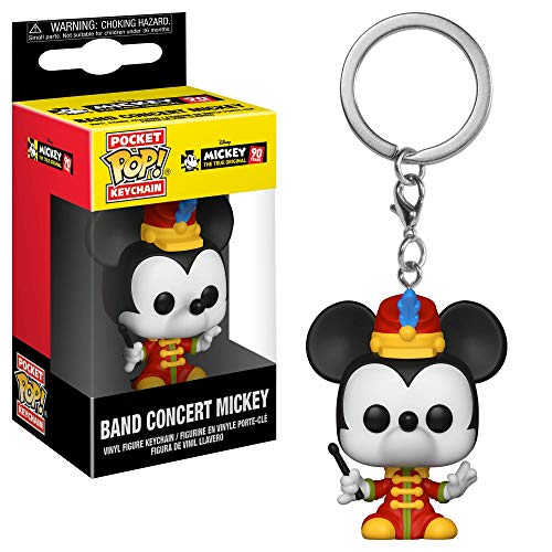 Funko 32176 Pocket POP Llavero: Disney: Band Concert Mickey Mouse S1, Multi