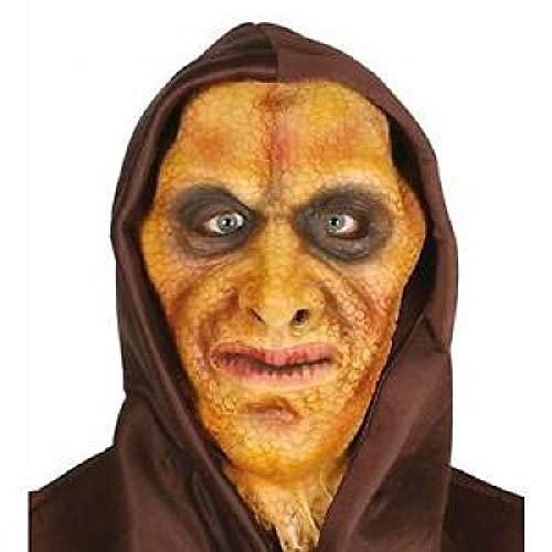 Guirca 2407 - Mascara Hombre Lagarto con Capucha Latex