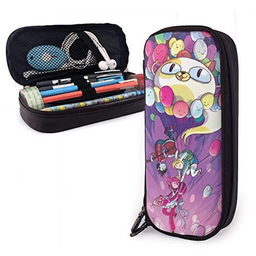 huatongxin Anime Adventure Time Finn Jak Estuche Large Capacity Pen Pouch Kids Boys Girls Cute Pencils Bags with Zipper Adults of