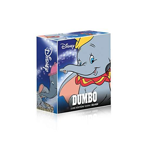 IMPACTO COLECCIONABLES Disney Dumbo Edición Luxe - Moneda / Medalla bañada en Plata .999 - 65mm