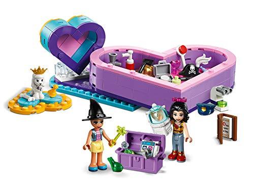 LEGO Friends - Pack de la Amistad: caja corazón, divertido set de construcción coleccionable para guardar todas tus cosas (41359) , color/modelo surtido