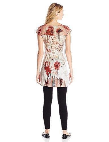 Little Tees - Disfraz para mujer novia zombi (122160S)
