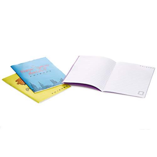 Paladone- Cuadernos A5 Set DE 3 Friends, Multicolor (7284730CF)